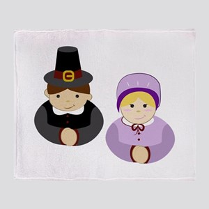 Pilgrims Throw Blanket